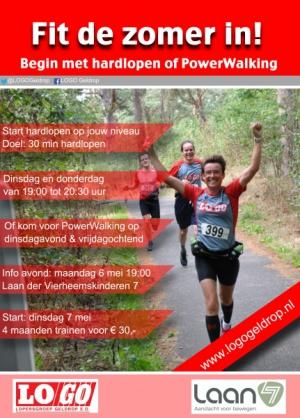 #Startcoach/Powerwalking Informatiebijeenkomst
