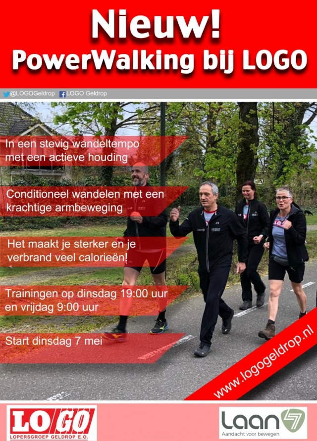 PowerWalking LOGO 2019