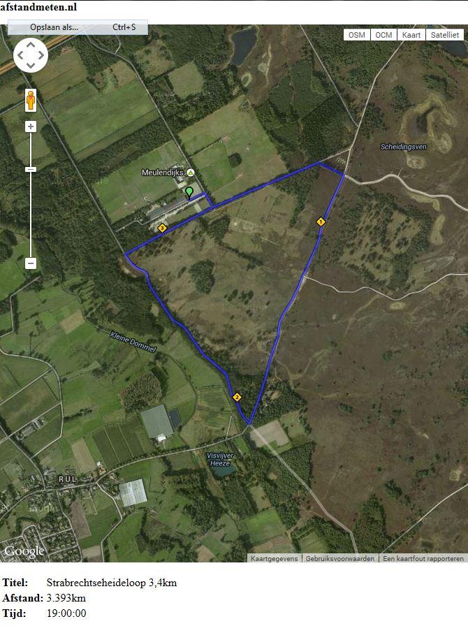 Route 3,4km
